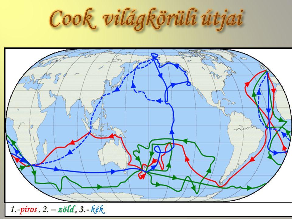 Cook világkörüli útjai