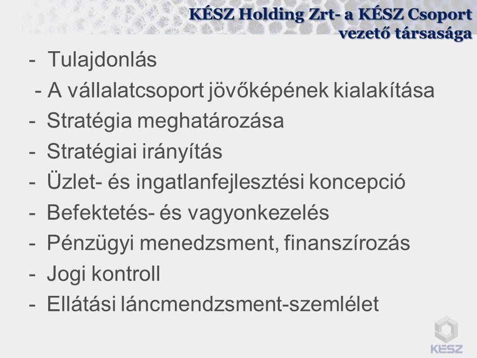 KÉSZ Holding Zrt- a KÉSZ Csoport vezető társasága