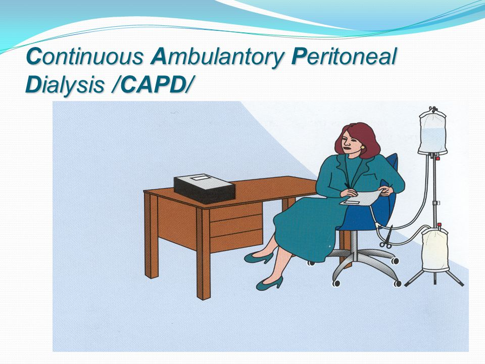 Continuous Ambulantory Peritoneal Dialysis /CAPD/