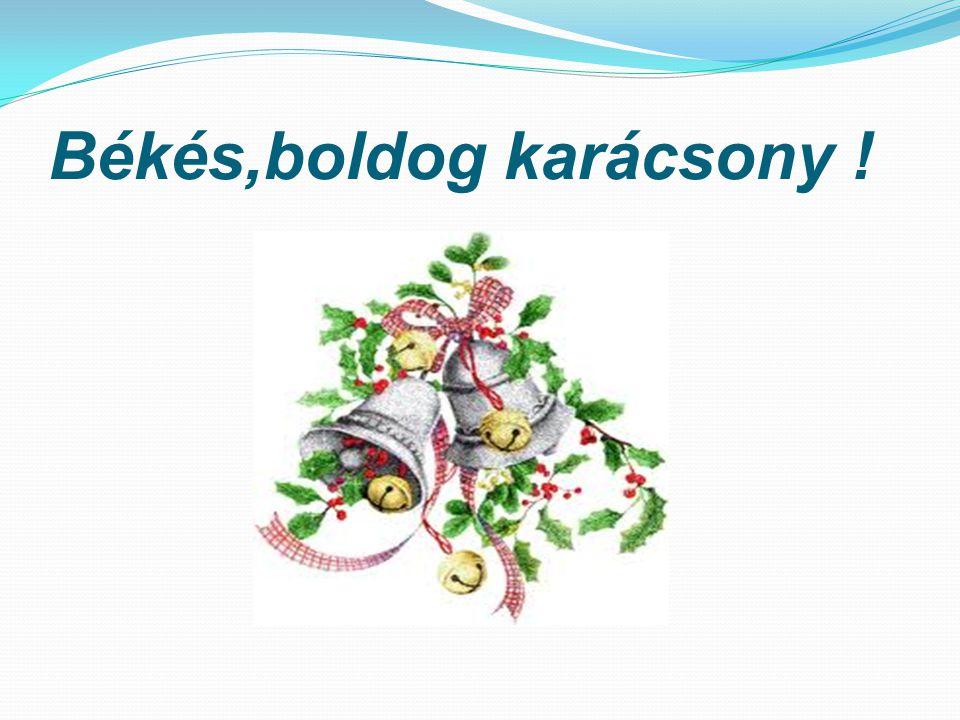 Békés,boldog karácsony !