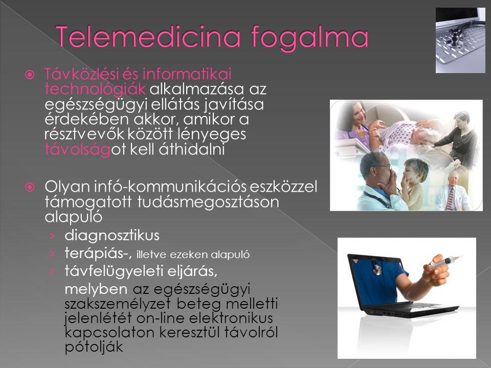 Telemedicina fogalma