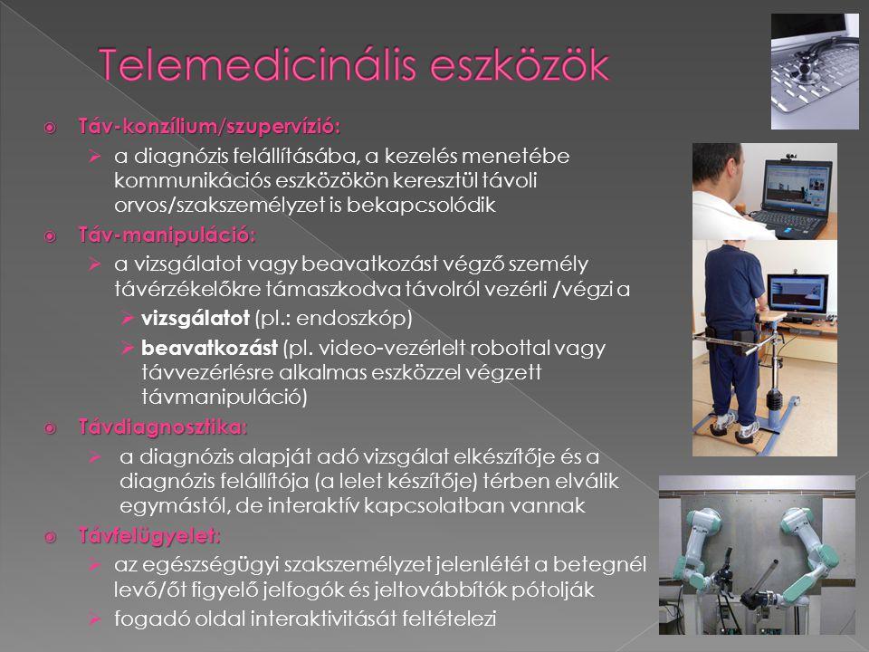 Telemedicinális eszközök