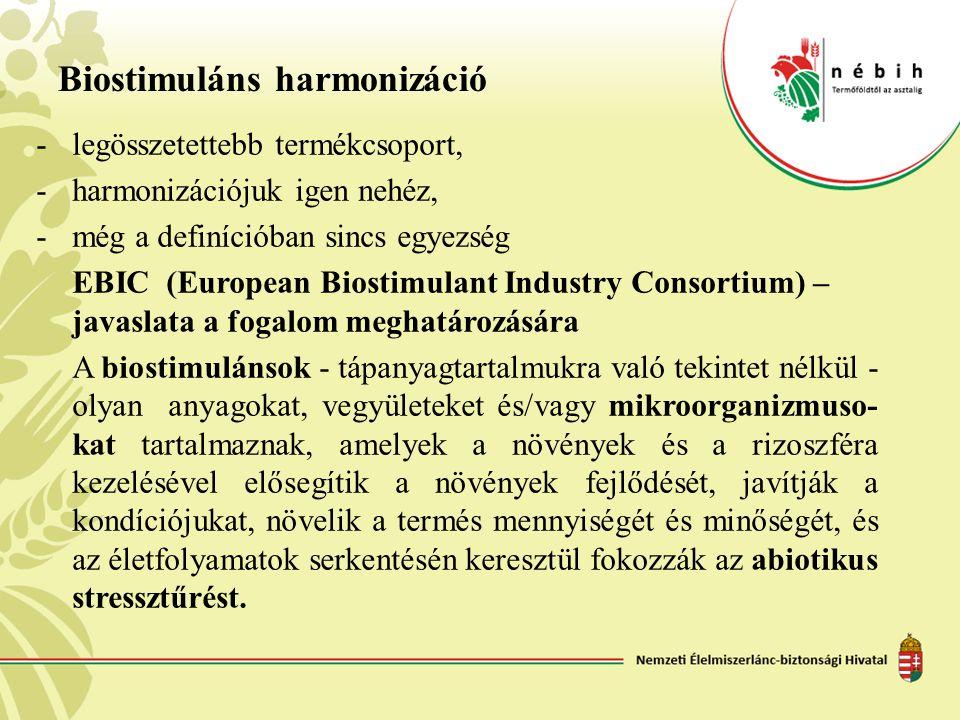 Biostimuláns harmonizáció