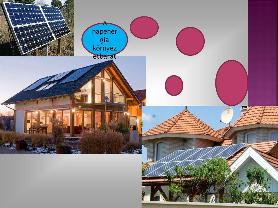 A napenergia környezetbarát