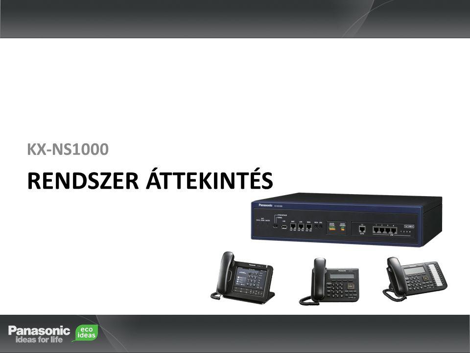 KX-NS1000 RENDSZER ÁTTEKINTÉS