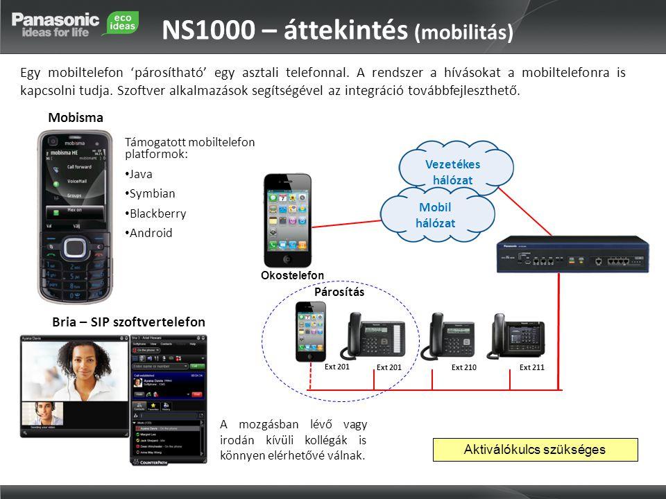 NS1000 – áttekintés (mobilitás)