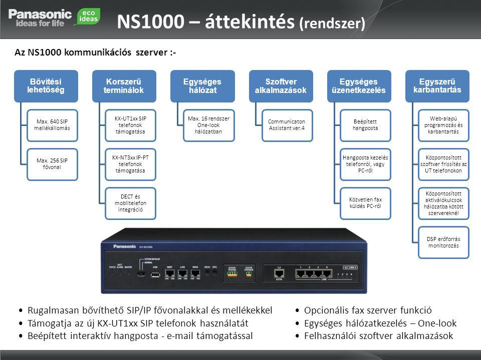 NS1000 – áttekintés (rendszer)