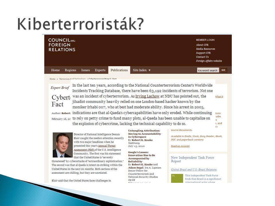 Kiberterroristák