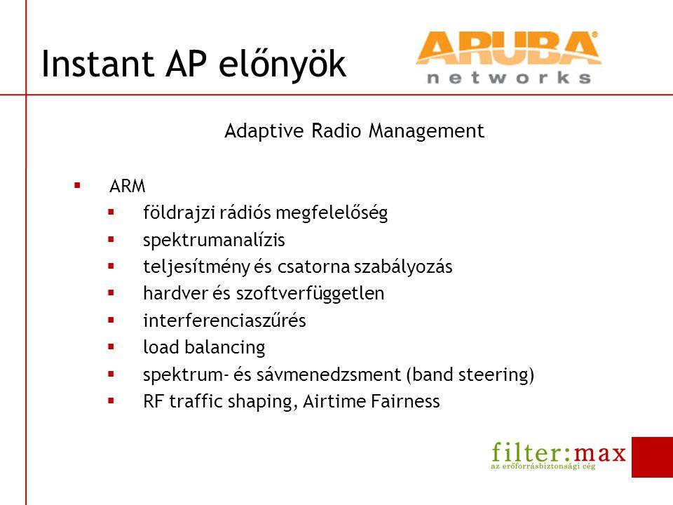 Adaptive Radio Management