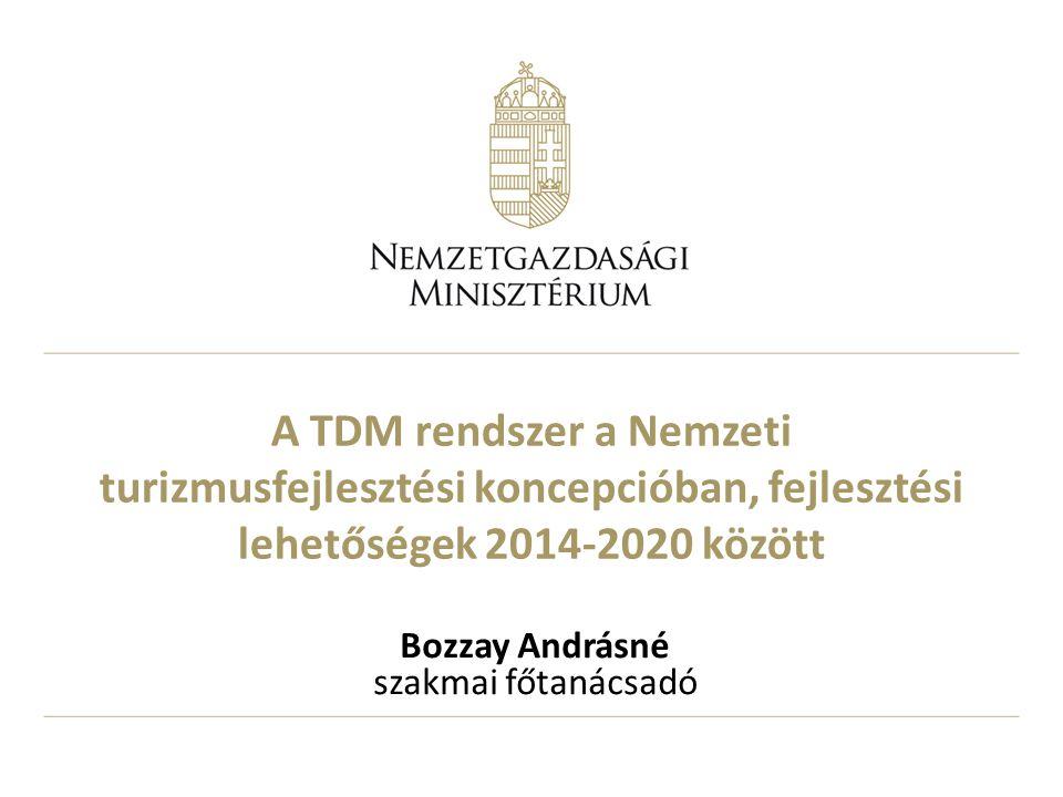 Bozzay Andrásné szakmai főtanácsadó