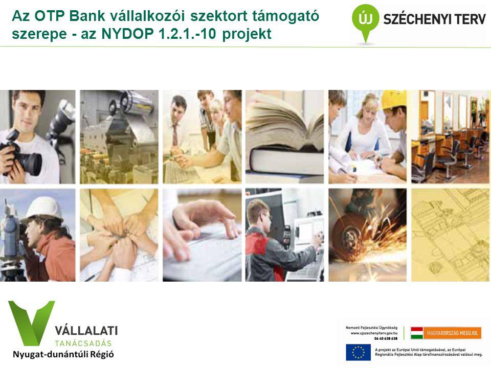 Az OTP Bank vállalkozói szektort támogató szerepe - az NYDOP 1. 2. 1