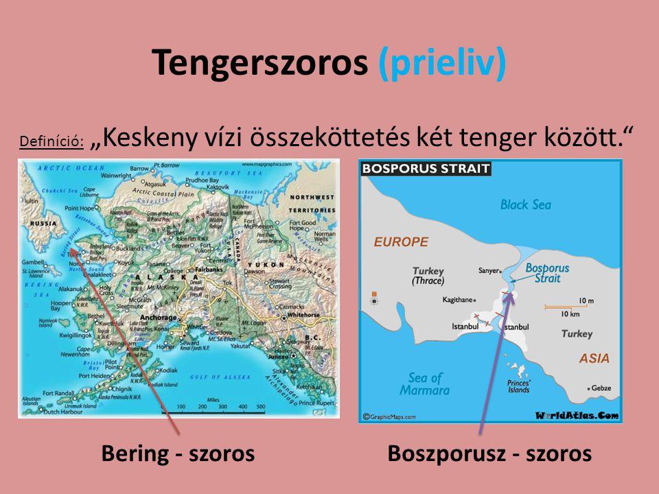 Tengerszoros (prieliv)