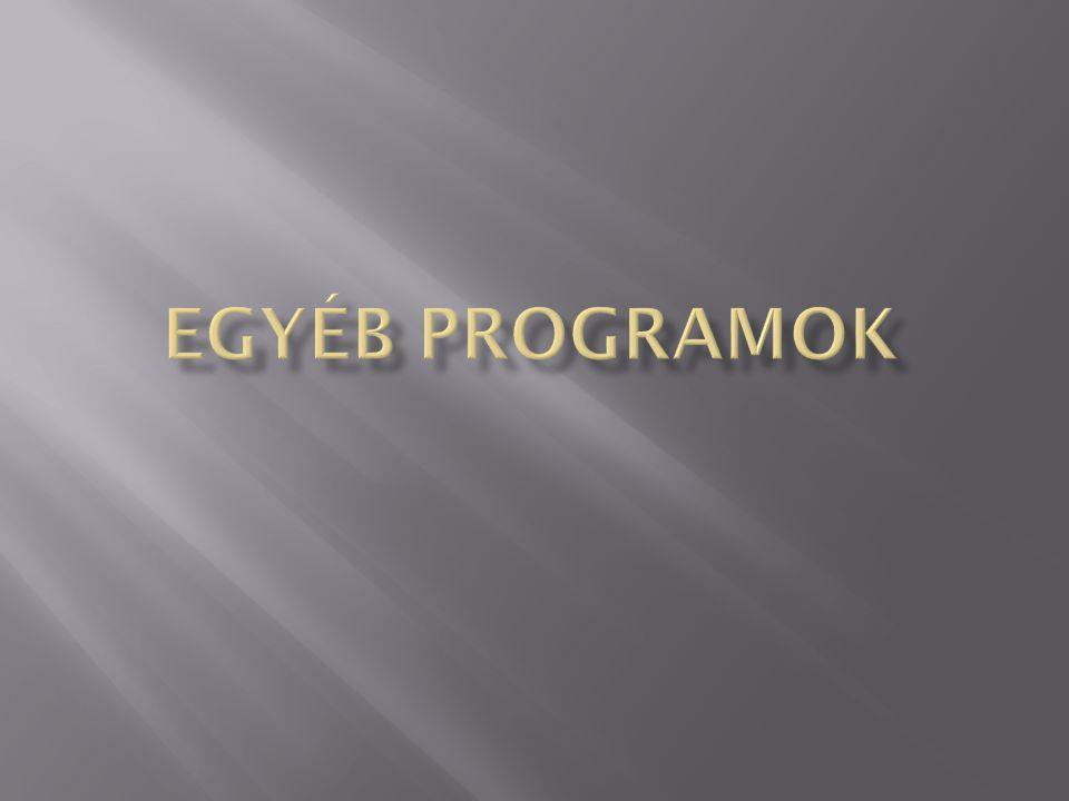 Egyéb programok