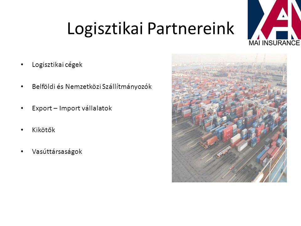 Logisztikai Partnereink