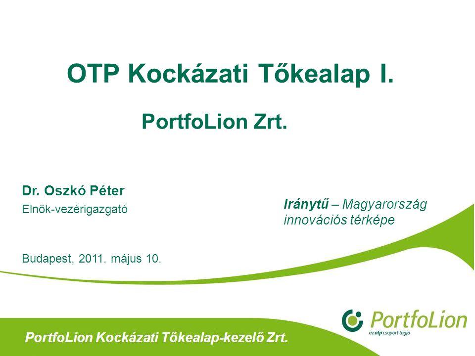 OTP Kockázati Tőkealap I.
