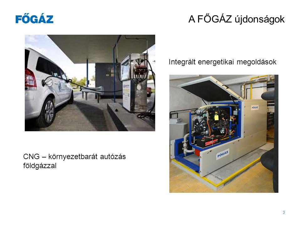 Integrált energetikai megoldások