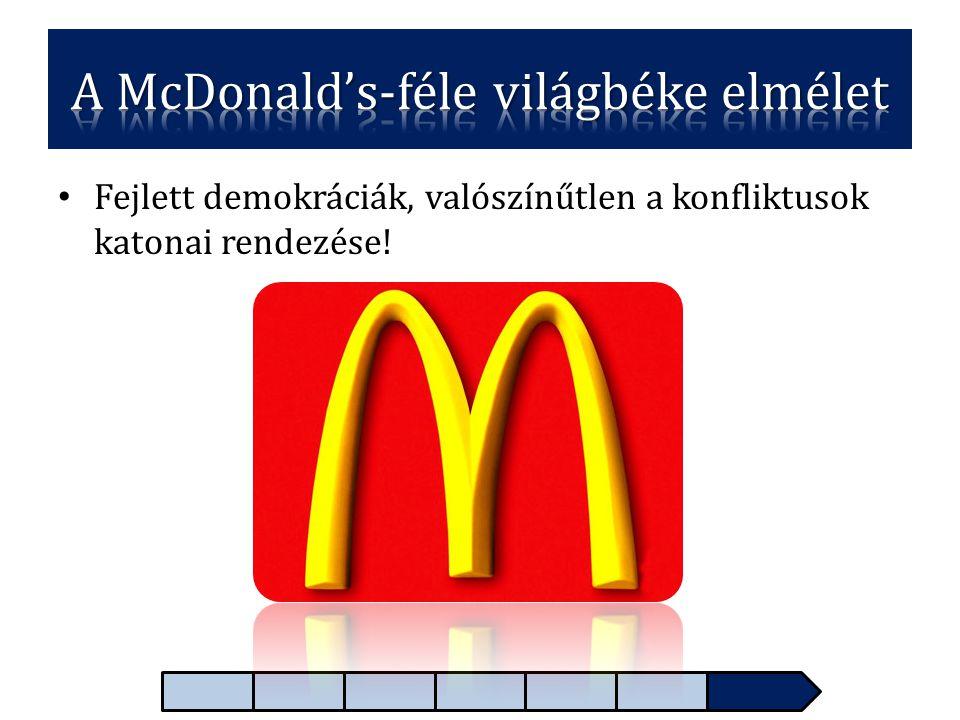 A McDonald's-féle világbéke elmélet