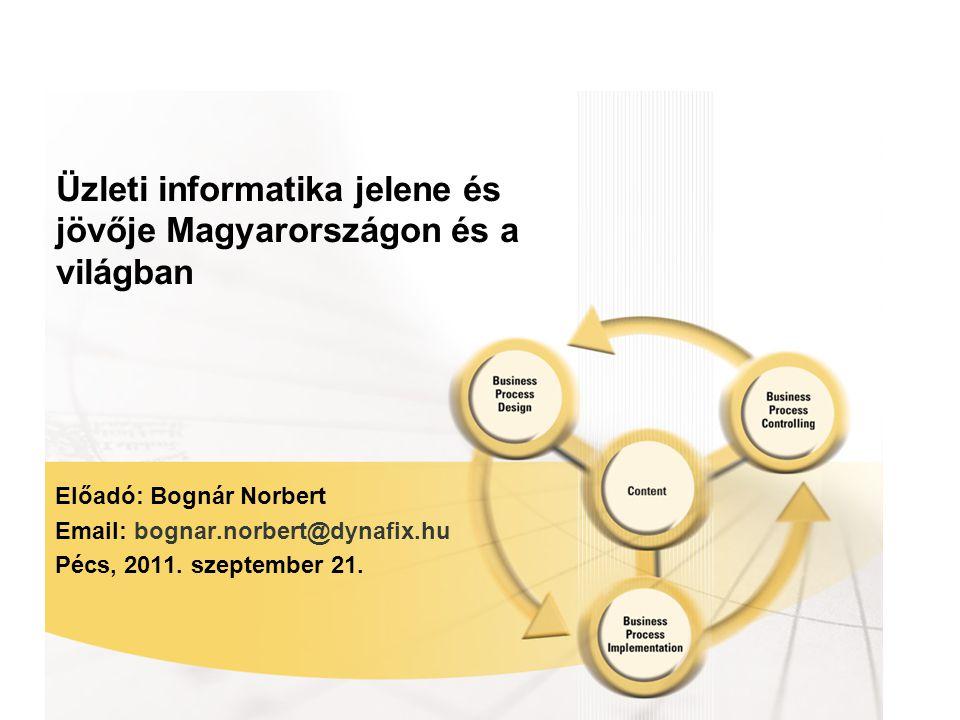 Üzleti informatika jelene és jövője Magyarországon és a világban