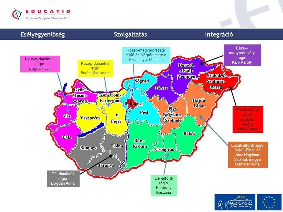 Esélyegyenlőség Szolgáltatás Integráció Észak-magyarországi régió