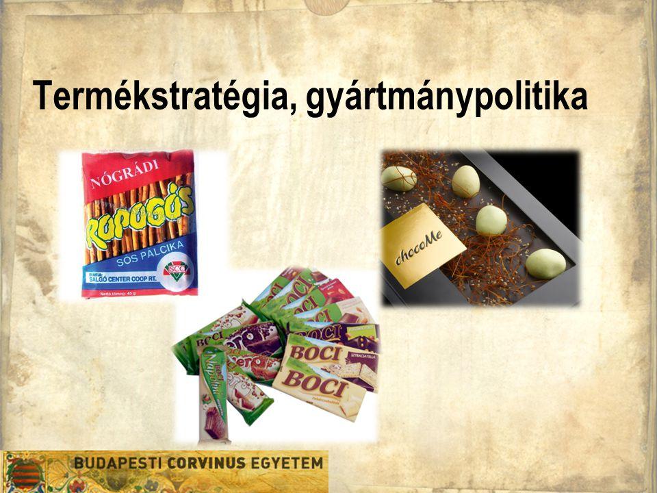 Termékstratégia, gyártmánypolitika