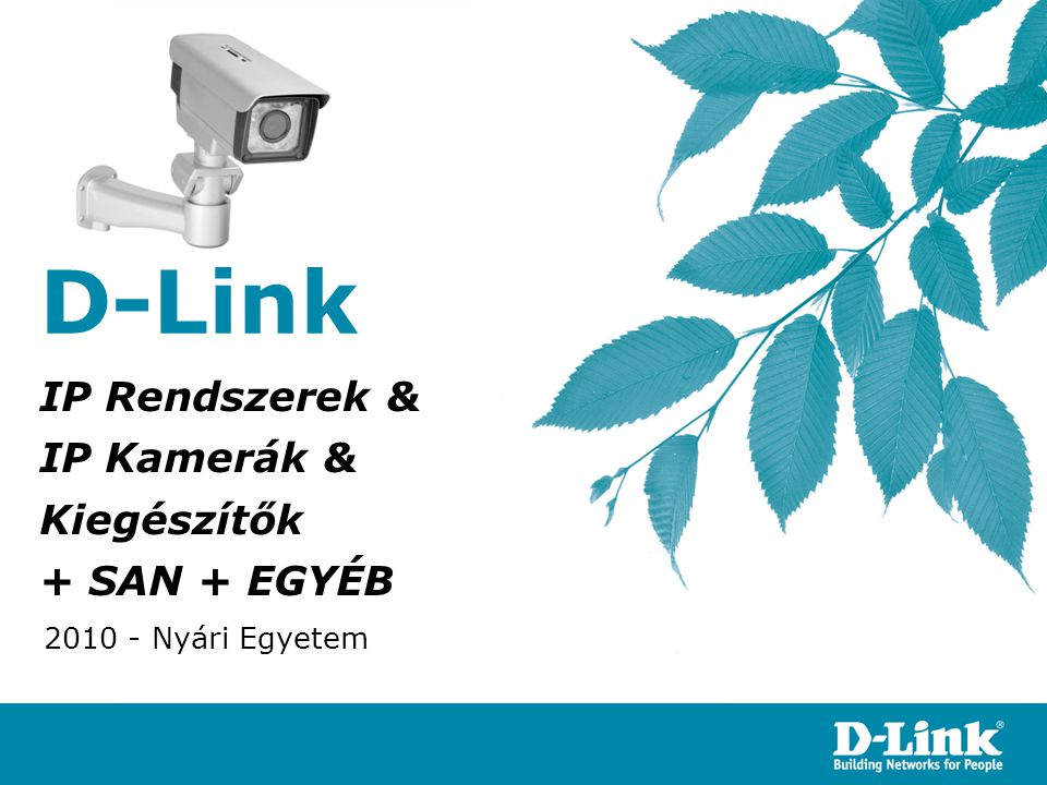 IP Rendszerek & IP Kamerák & Kiegészítők + SAN + EGYÉB