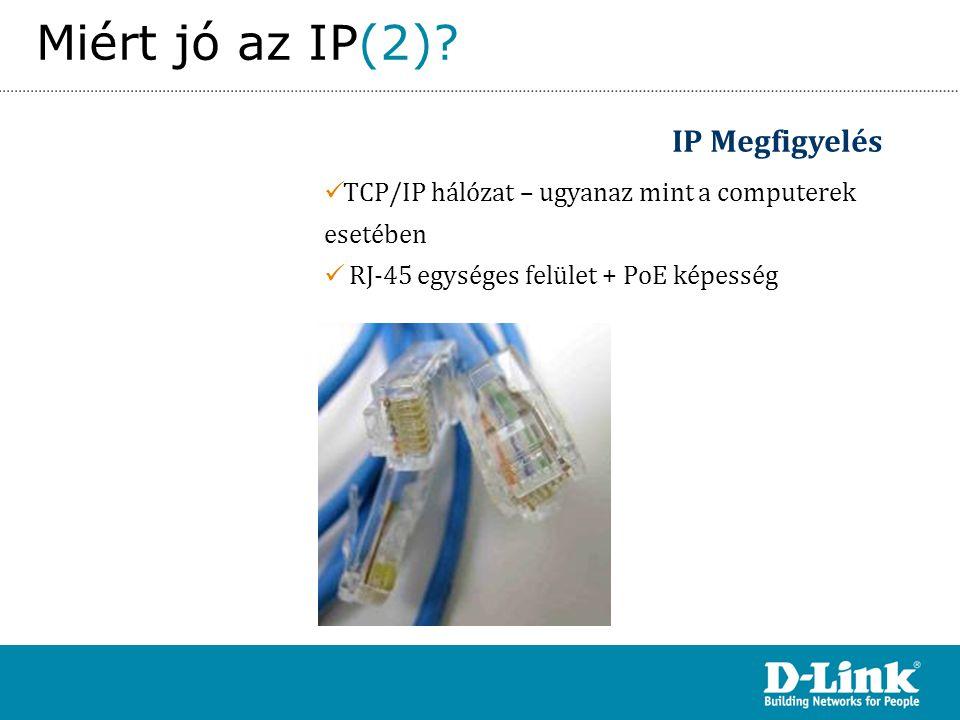 Miért jó az IP(2) IP Megfigyelés
