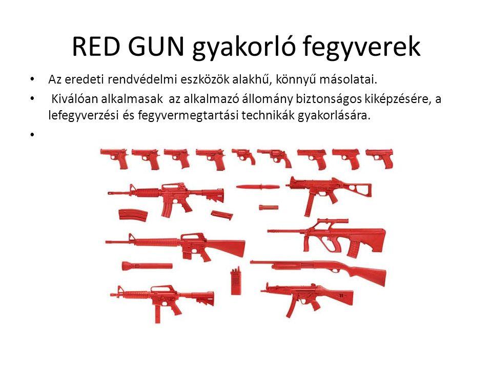 RED GUN gyakorló fegyverek