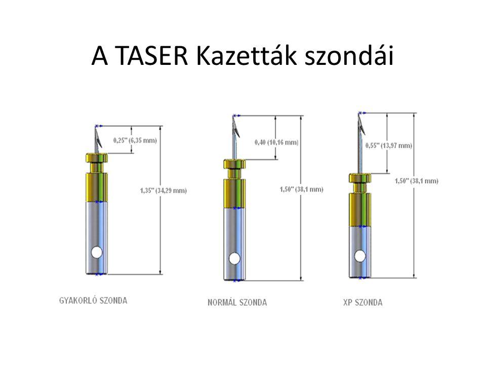 A TASER Kazetták szondái
