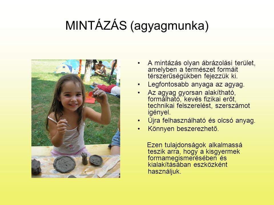 MINTÁZÁS (agyagmunka)