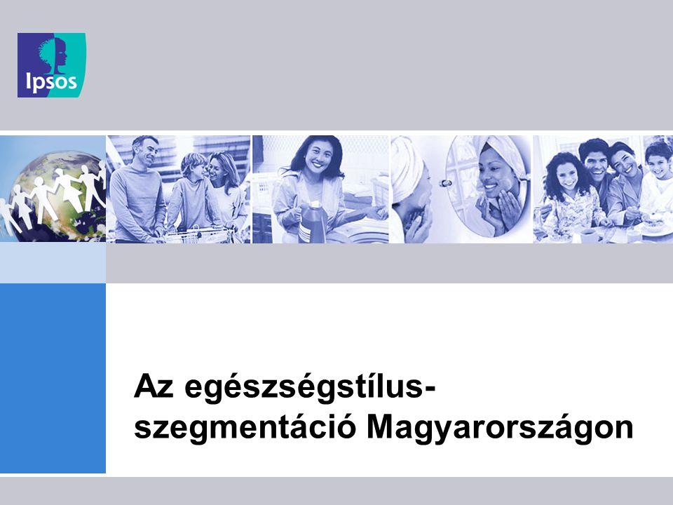 Az egészségstílus-szegmentáció Magyarországon