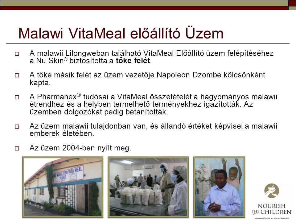 Malawi VitaMeal előállító Üzem