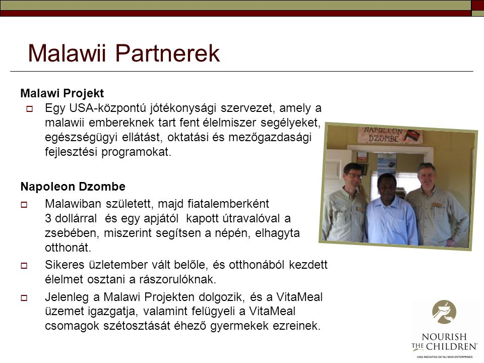 Malawii Partnerek Malawi Projekt