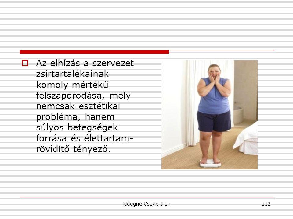 Az elhízás a szervezet zsírtartalékainak komoly mértékű felszaporodása, mely nemcsak esztétikai probléma, hanem súlyos betegségek forrása és élettartam-rövidítő tényező.
