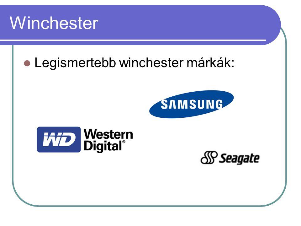 Winchester Legismertebb winchester márkák: