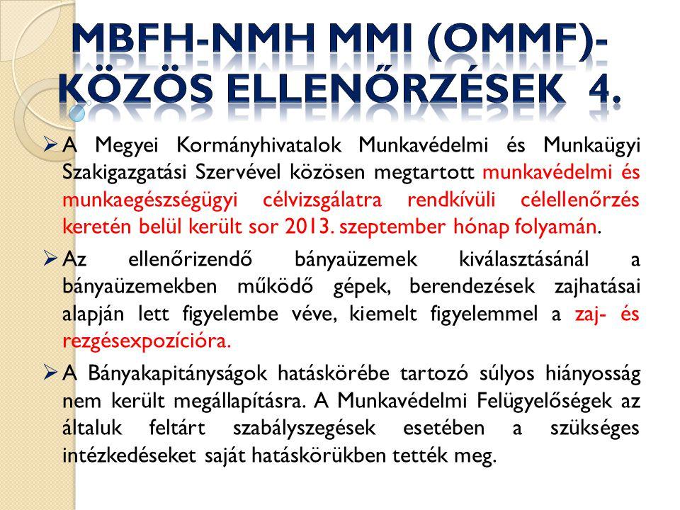 MBFH-NMH MMI (OMMF)- közös ellenőrzések 4.