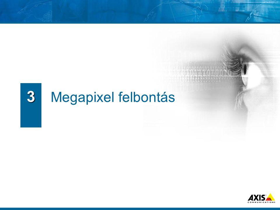 3 Megapixel felbontás