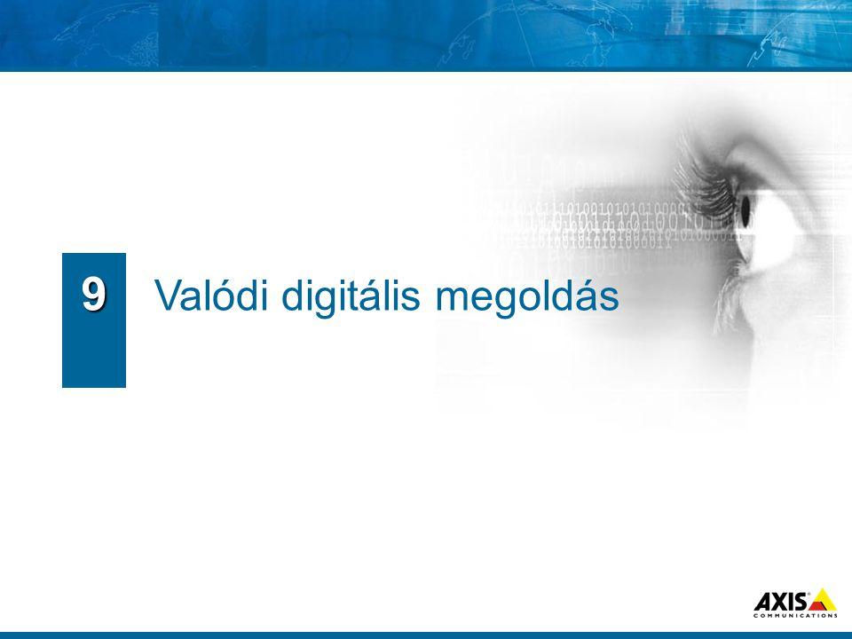 9 Valódi digitális megoldás
