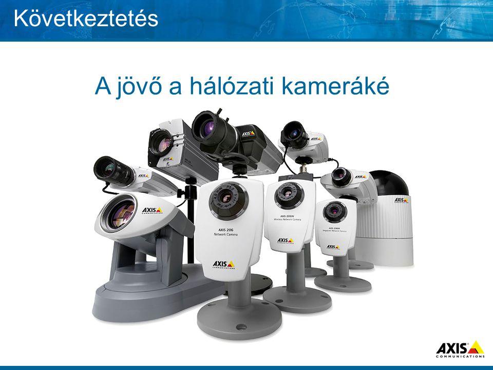 A jövő a hálózati kameráké