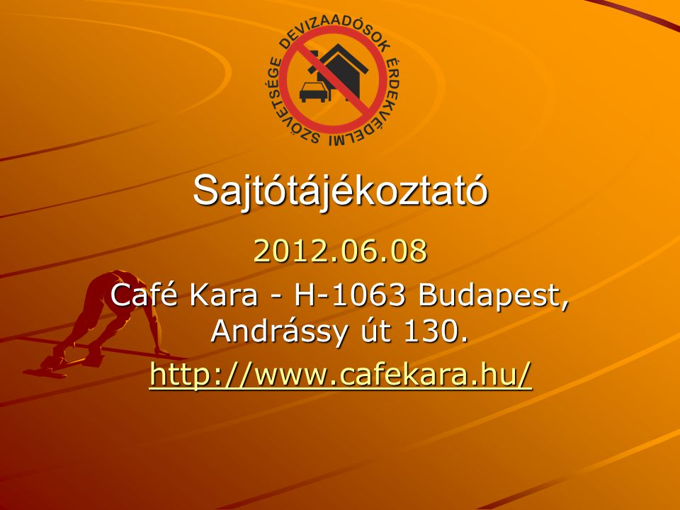 Café Kara - H-1063 Budapest, Andrássy út 130.