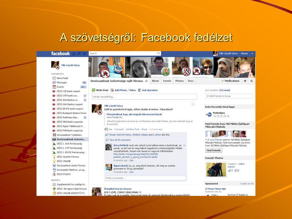 A szövetségről: Facebook fedélzet