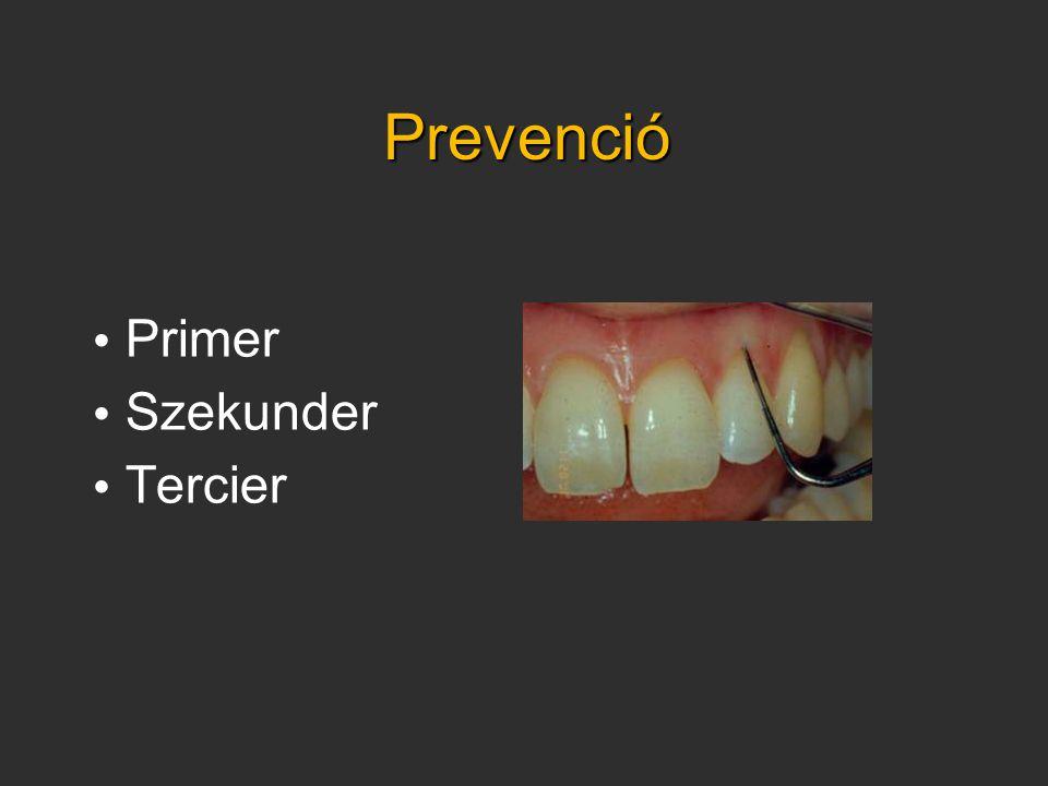 Prevenció Primer Szekunder Tercier