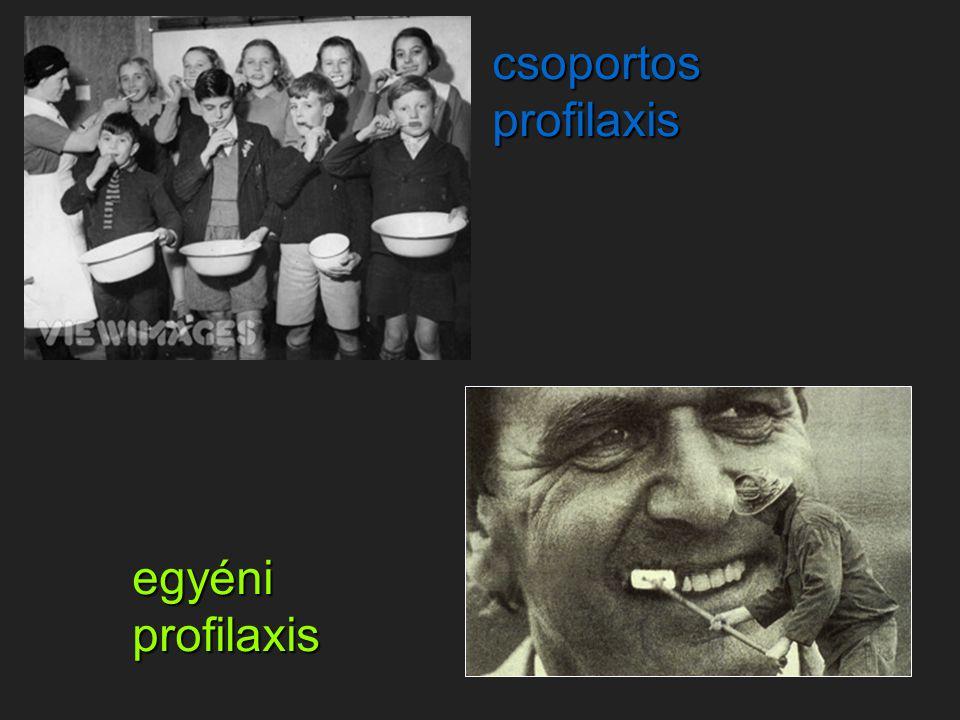 csoportos profilaxis egyéni profilaxis
