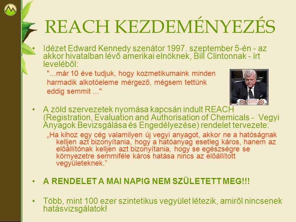 REACH KEZDEMÉNYEZÉS