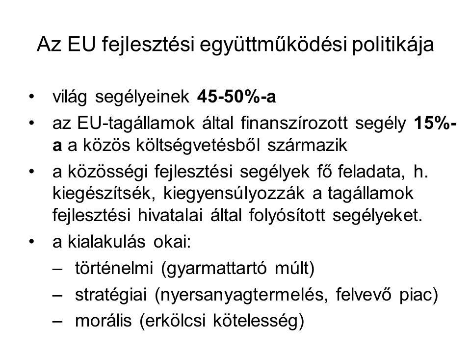 Az EU fejlesztési együttműködési politikája