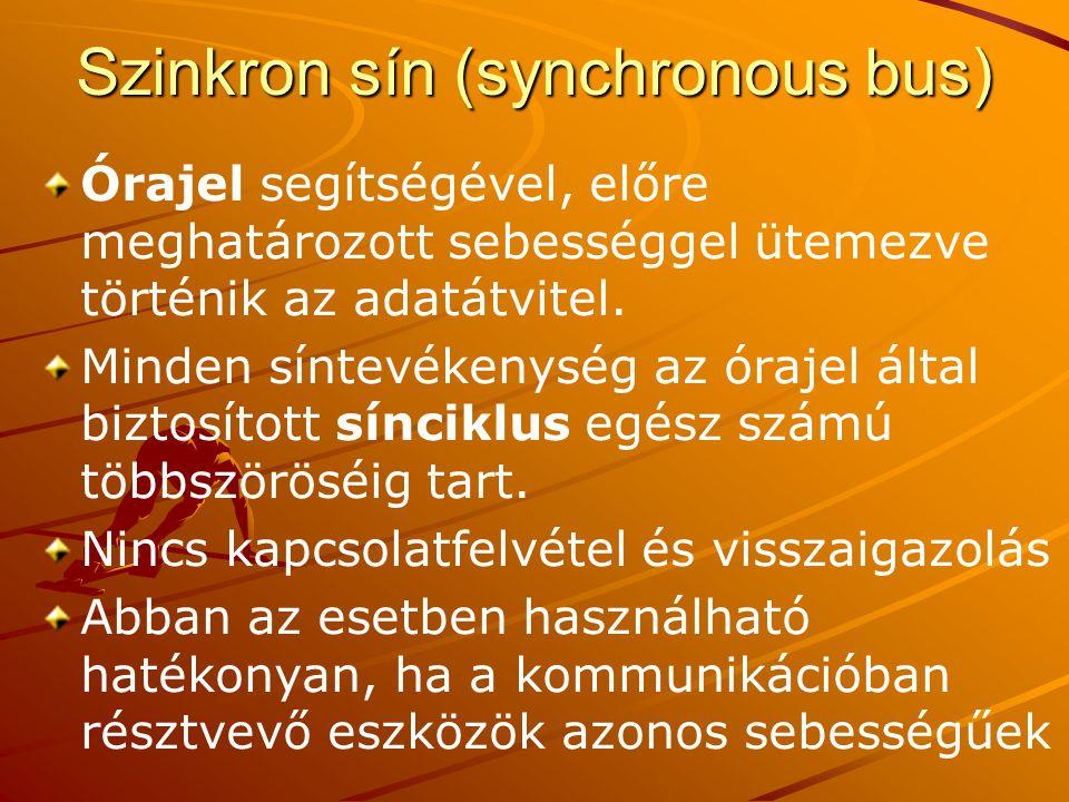 Szinkron sín (synchronous bus)