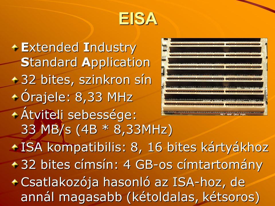 EISA Extended Industry Standard Application 32 bites, szinkron sín