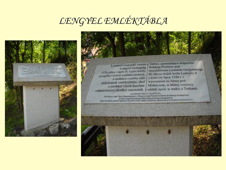 LENGYEL EMLÉKTÁBLA