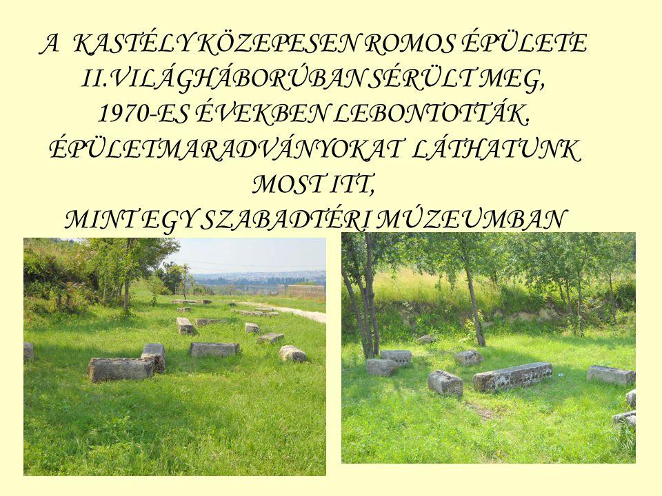 A KASTÉLY KÖZEPESEN ROMOS ÉPÜLETE II