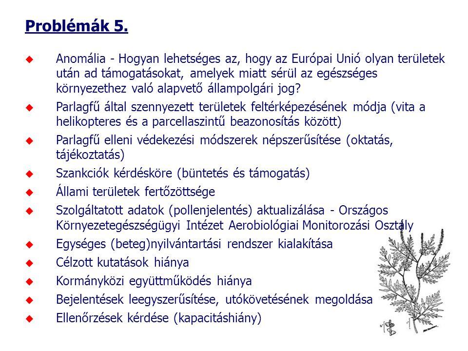 Problémák 5.