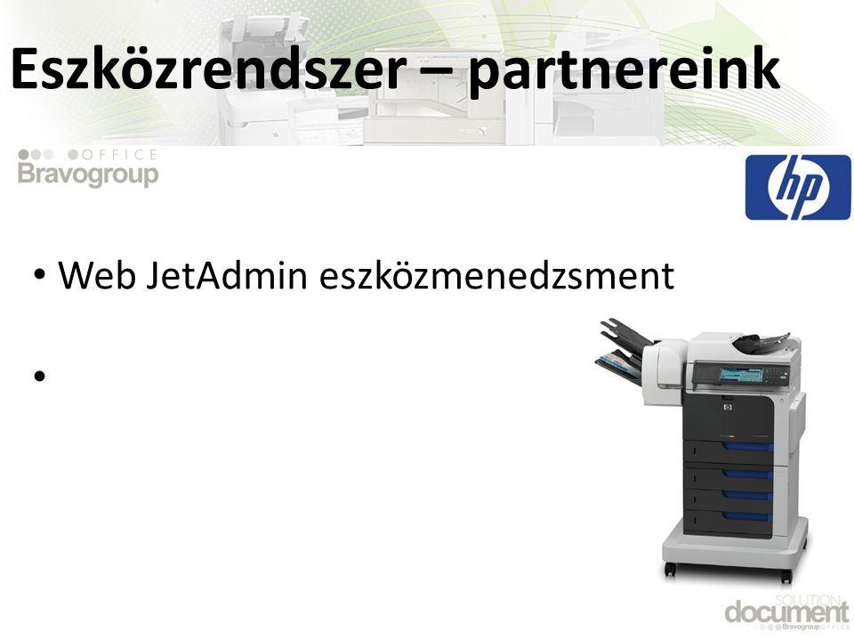 Eszközrendszer – partnereink